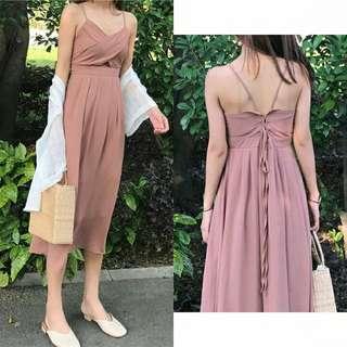 Nude Pink Dinner Dress