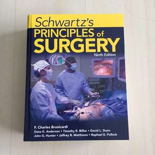 Schwartz's Principles of Surgery (9th Edition)