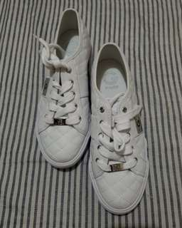 Guess white rubber shoes