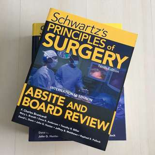Schwartz's Principles of Surgery Absite & Board Review (9th Edition)