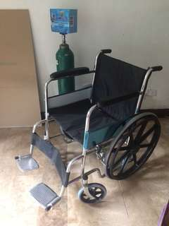 Wheel chair,oxygen