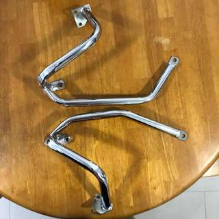 Honda CB400 crash bar