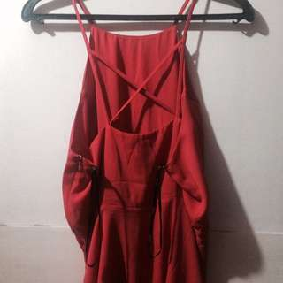 Hot Red Dress frm F21 ❤️