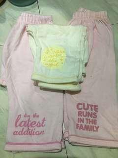 baby pajamas - hush hush