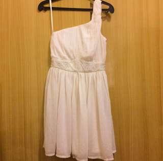 forever 21 one shoulder dress w tag