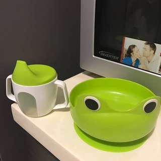 Ikea Froggy suction plate and cup