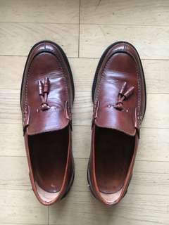 Italian made Alexander Trend Leather Loafers