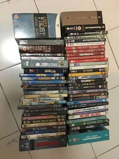 Dvds $20 for the whole lot