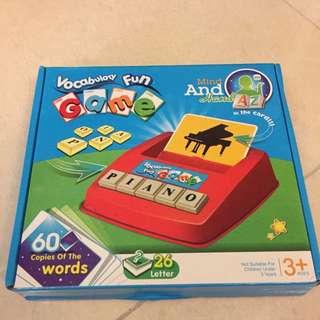 Vocabulary Fun Game