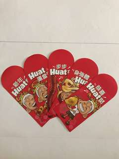 Ah Huat Red Packet Ang Pow Hong Bao Set