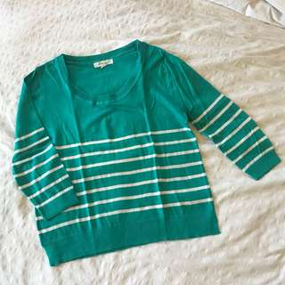 Forever 21 striped pullover