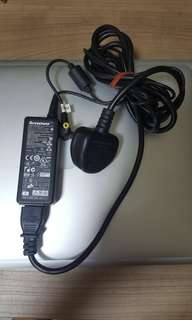 Lenovo laptop charger 20V 2A.