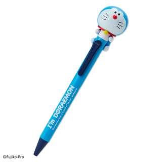 日本製 Doraemon 多啦A夢 叮噹 擰頭 黑色 原子筆 (一按制即擰頭)