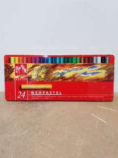 Caran D'ache Neopastel Oil Pastel set x24