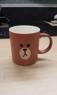 Line Brown Mug