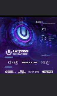 Ultra today ticket