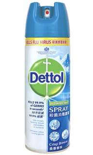 BN Dettol Crisp Breeze Disinfectant Spray