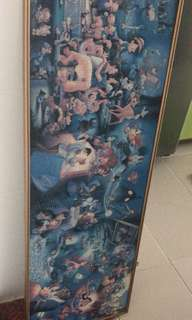Disney puzzle with frame