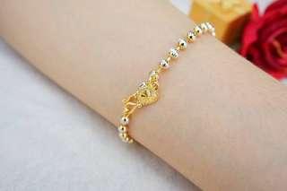 bracelet Genuine gold
