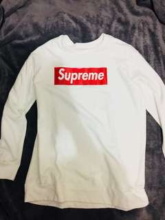 Mirror copy Supreme used once