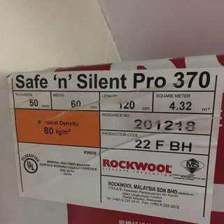Rockwool Safe and silent pro. Acoustic
