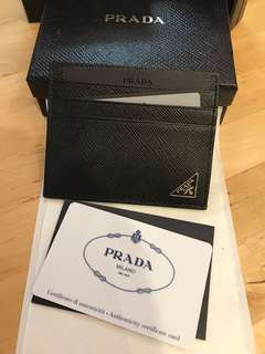 Prada Card Holder 父親節禮物