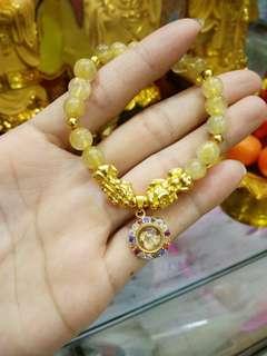 bracelet brocade genuine lucky