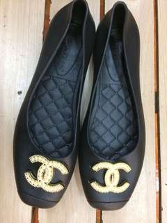 Chanel doll shoes