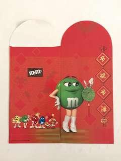 M&M's Green Red Packet Ang Pow Hong Bao