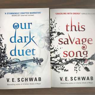 [Paperback] The Savage Song and Dark Duet by V. E. Schwab