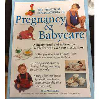 The practical encyclopedia book for baby care and pregnancy book
