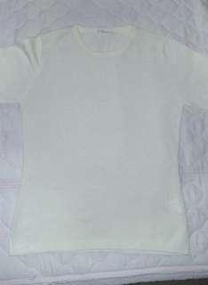 🚚 可換物 白色針織t