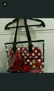 sanrio hello kitty 2 in 1 bag