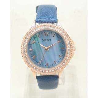 Stauer Blue Muse Ladies Watch 29292