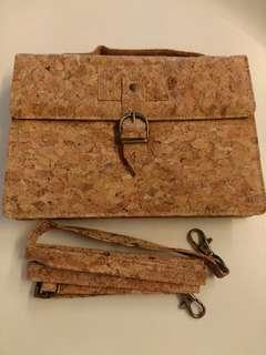 Brand new Cork Texture Mini Bag 全新水松面料迷你袋 #寧願當初不相見
