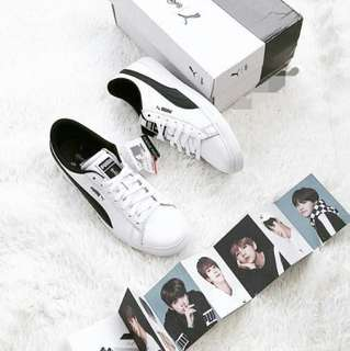 Puma x BTS court star