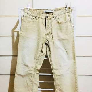 Gap Ribbed Low Rise Boot Fit Pants