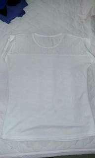 🚚 可換物 純白上衣