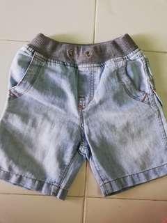 Jean Short Pants