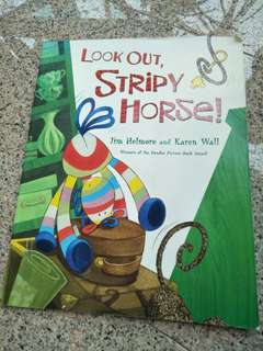Look out stripy horse