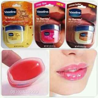 ORIGINAL, CREME BRULEE, ROSY LIPS, COCOA BUTTER VASELINE LIP THERAPY