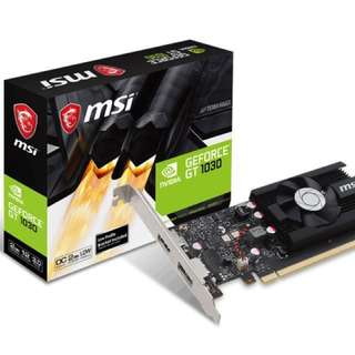 MSI GeForce GT 1030 [OC Edition]