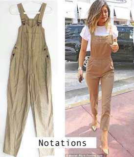 Notations Overall Pants