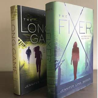 [Hardback] The Fixer and The Long Game by Jennifer Lynn Barnes