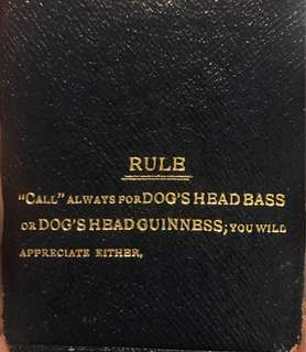 Complete Set Dog's Head Guinness Playing Cards
