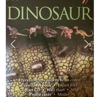 Dinosaur Collection - ONLY $9.90 selling CHEAP (Bought at $39.90 SGD)