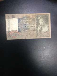 Netherlands 10 Gulden 1941