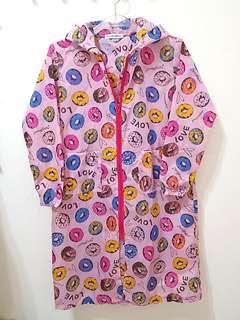 🚚 🌈彩色甜甜圈🌈兒童 耐穿時尚❤可愛雨衣(120~135cm)