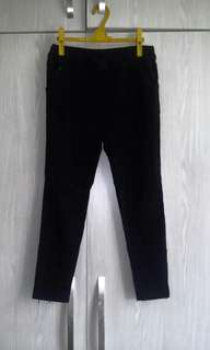 🚚 可換物 黑色棉褲