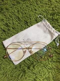 Klassic-金邊透明圓框眼鏡